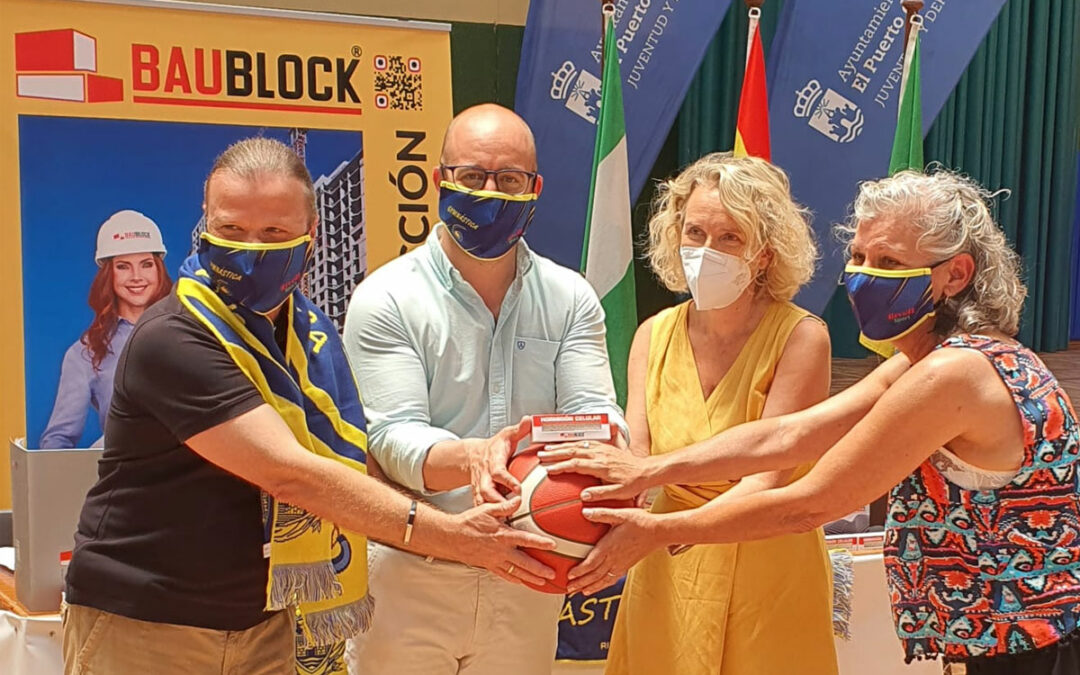 Baublock firma un convenio con La Gymnástica Portuense