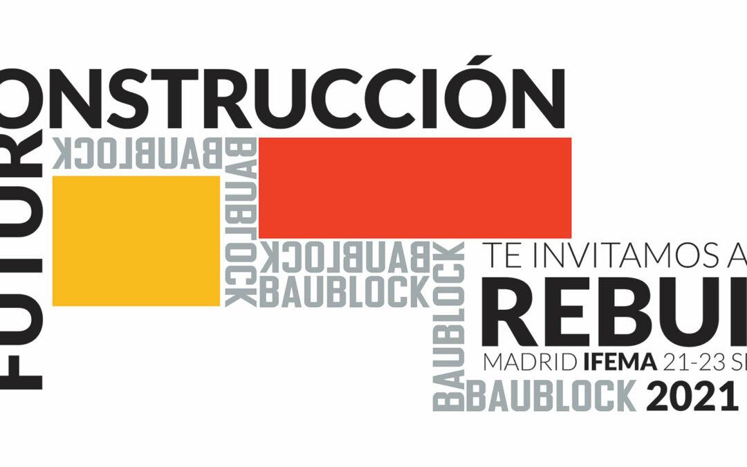 Baublock en Rebuild 2021, IFEMA.